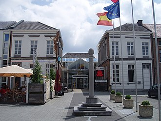 Herk-de-Stad - Image: Voormalig gemeentehuis