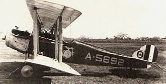 United States Marine Corps Aviation - A Vought VE-7F from VO-1M in Santo Domingo, Dominican Republic circa 1922.