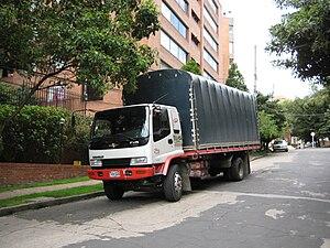 English: Truck Nederlands: Vrachtauto