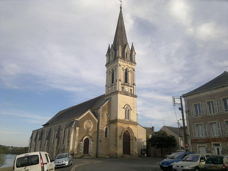 Église Saint-Maurille, Fr-49-Chalonnes-sur-Loire.