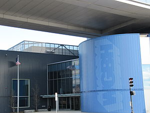 WGBH-TV - Guest Street entrance to the WGBH studios.
