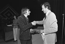 Hofman receives the Gouden Penseel in 1974