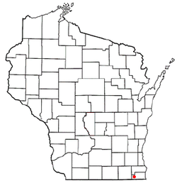 Location of Randall, Wisconsin