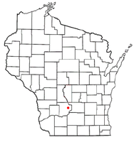 Location of West Baraboo, Wisconsin