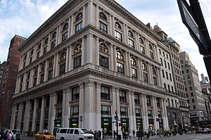 Tiffany and Company Building in New York City