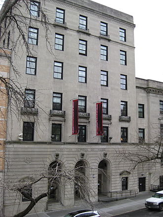 Manhattan School of Music - The Manhattan School of Music, facing Claremont Avenue