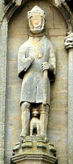 Waltheof, earl of Northumbria Croyland Abbey.JPG