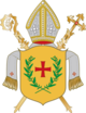 Coat of arms of the diocese of Sankt Pölten