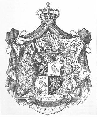 Principality of Reuss-Greiz - Image: Wappen Deutsches Reich Fürstentum Reuß ältere Linie