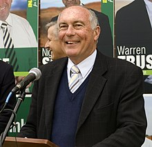 Photographie de Warren Truss en 2010.