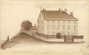 Warrington Academy - Warrington Academy in 1757