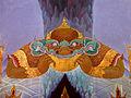 Wat Pangla - 049 Rahu swallowing the Moon (10684670235).jpg