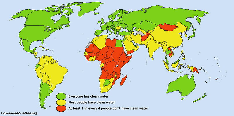 the importance of clean drinking water all over the world Prioitising the rights of nature as being of equal importance to  drinking water to people all over the world  clean drinking water even in the most.