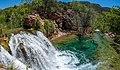 Waterfall Trail on Fossil Creek (30099298955).jpg