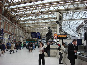 The Bourne Ultimatum (film) - Scenes were filmed at London Waterloo station between October 2006 and April 2007
