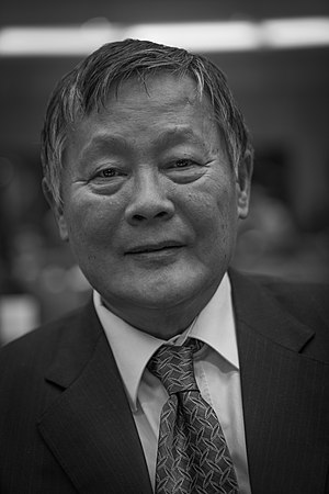 Wei Jingsheng - Wei Jingsheng at the European Parliament in Strasbourg on the 25th anniversary of the Sakharov Prize, November 20, 2013