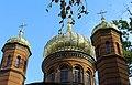 Weimar, historischer Friedhof, Kuppeln der Russisch-Orthodoxen Kapelle.jpg