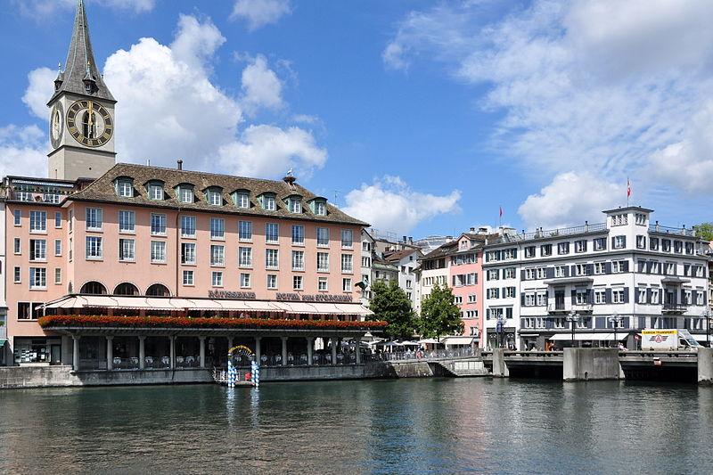 File:Weinplatz - Hotel zum Storchen - Schwert - Rathausbrücke - Limmatquai 2011-08-10 11-59-24.jpg