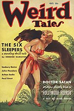 Weird Tales cover image for October 1935
