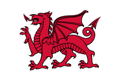 Welsh dragon red banner.png