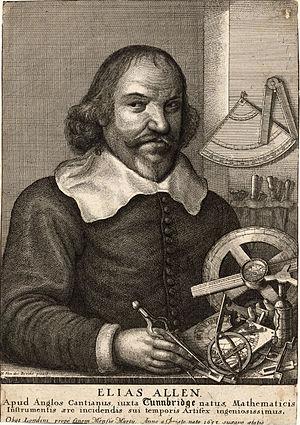 Worshipful Company of Clockmakers - Image: Wenceslas Hollar Elias Allen