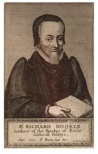 Richard Hooker - Image: Wenceslas Hollar Richard Hooker (State 1)