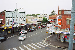Wentworthville, New South Wales - View from the railway footbridge