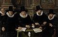 Werner van den Valckert - Vier regenten en de binnenvader van het leprozenhuis te Amsterdam - SK-C-417 - Rijksmuseum.jpg