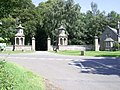 West Lodge Gates at Chillingham Castle - geograph.org.uk - 522210.jpg