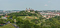 West overview of Festung Marienberg and Würzburg 20140602.jpg
