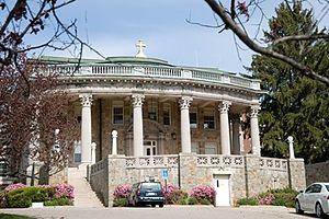 Regis College (Massachusetts) - College Hall