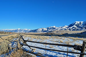 Absaroka Range - Image: Westslope Absaroka Range Montana