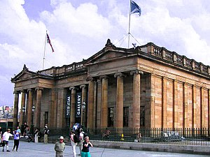 Scottish National Gallery - Scottish National Gallery, viewed from the north