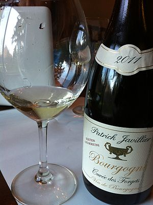 Burgundy wine - A white wine made from declassified AOC Meursault wine that is sold as a general AOC Bourgogne.