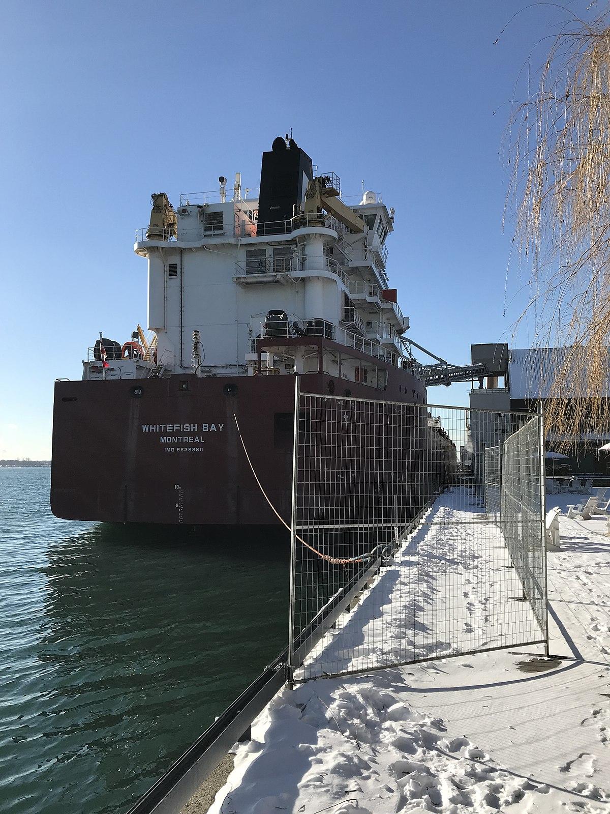 whitefish bay  2013 ship