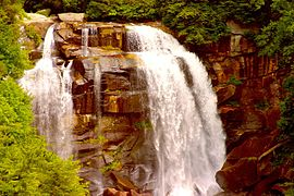 Whitewater Falls partial view.jpg