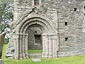 Whithorn Priory - doorway of the nave - geograph.org.uk - 939574.jpg