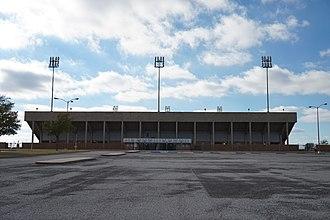Memorial Stadium (Wichita Falls) - Image: Wichita Falls October 2015 80 (Memorial Stadium)