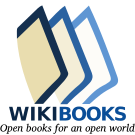 Wikibooks logo from 2009 to the present