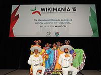 Wikimanía 2015 - Day 3 - Opening Ceremony - LMM - México DF 21.jpg
