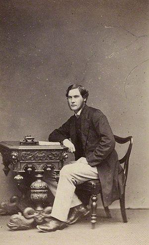 William Henry Gladstone - Portrait of Gladstone, c.1865.