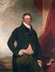 William Keppel, 4th earl of Albemarle (1772-1849), by Martin Archer Shee