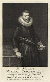 William Trumbull (diplomat) English diplomat and administrator (d 1635)