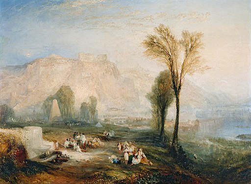 William Turner, View of Ehrenbreitstein (1835)