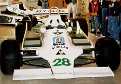 Regazzoni's Williams FW07 from 1979.