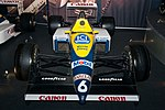 Williams FW12B (Patrese) front 2017 Williams Conference Centre.jpg
