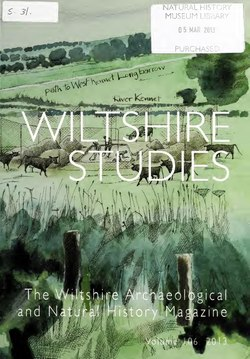 Wiltshire archaeological and natural history magazine (IA wiltshirearchaeo1062unse).pdf