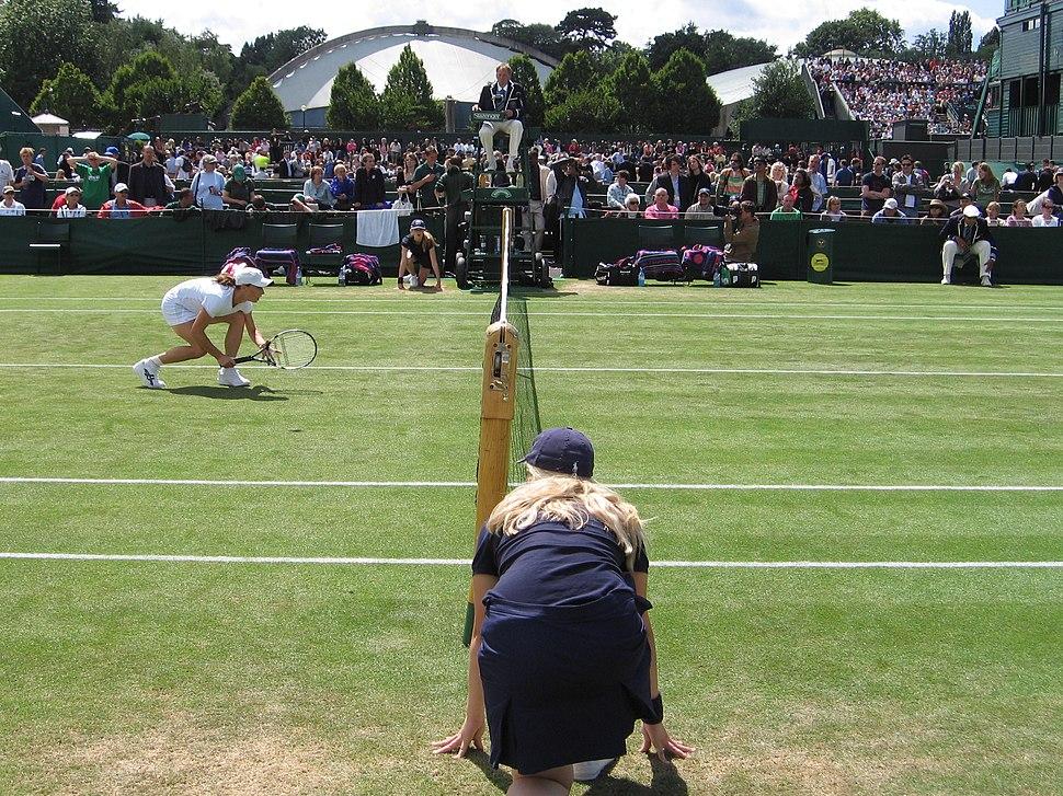 Wimbledon ballgirl 2007