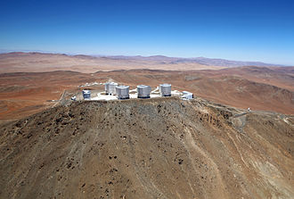Aerial survey - Image: Wings for Science Fly Over Paranal