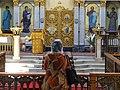 Woman Inside Eastern Orthodox Church - Tashkent - Uzbekistan (7466946510).jpg